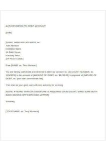 How To Make Authorization Letter pdf