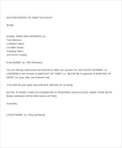 How To Make Authorization Letter