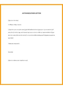 Authorization Letter for SSS pdf