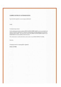 Letter of Authorization for SSS Loan pdf