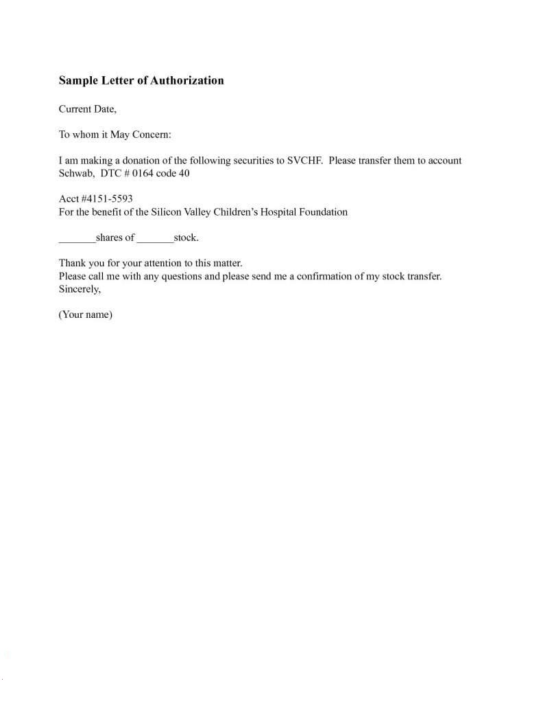 Letter of Authorization for NSO Birth Certificate Sample